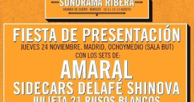 fiesta sonorama 2017 madrid