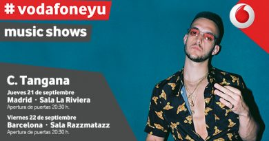 C. Tangana en Madrid con Vodafone Yu Music Shows