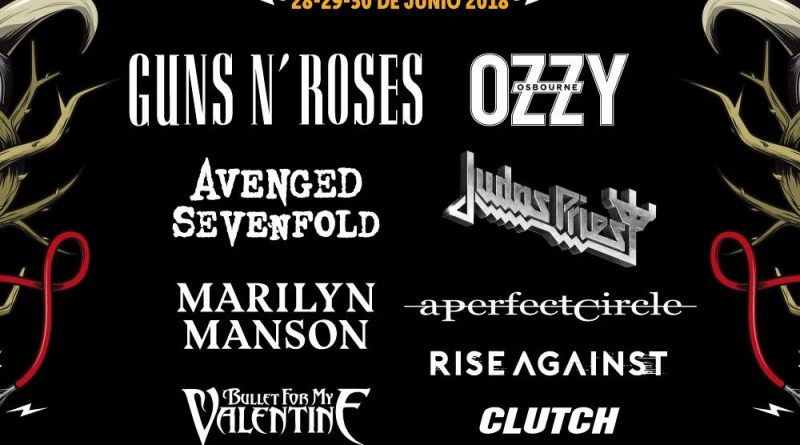 "La gran banda norteamericana GUNS N' ROSES hará parada en el festival Download Madrid dentro de la esperada su gira ""Not In This Lifetime Tour""."