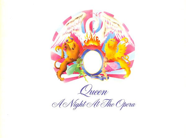 """A Night at the Opera"" es el cuarto álbum de estudio de la banda británica de rock Queen, publicado originalmente en 1975."