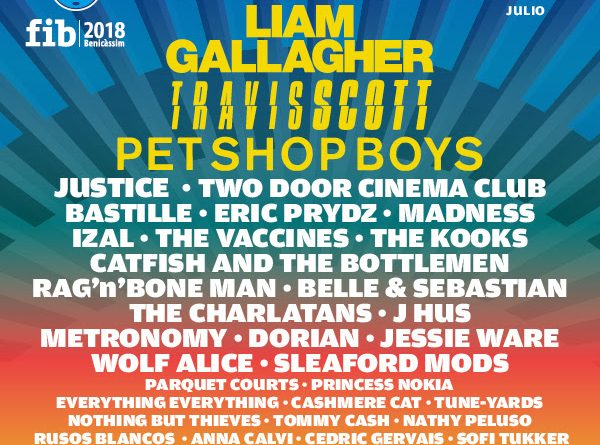 Eel FIB 2018 y el cartel sigue creciendo en cantidad y calidad. Hoy se unen nuevos nombres a The Killers, Liam Gallagher, Travis Scoot, Pet Shop Boys, Two Door Cinema Club, Justice, The Vaccines, Madnes y que, junto a muchos más, van dando forma a una edición fascinante.