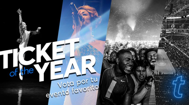 Arranca la quinta edición de Ticket Of The Year, la encuesta global de Ticketmaster que revela los eventos preferidos por el público en 2019.